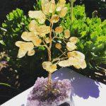 Citrine Gemstone Tree Small
