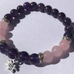 Amethyst-Rose-Quartz-Bracelet